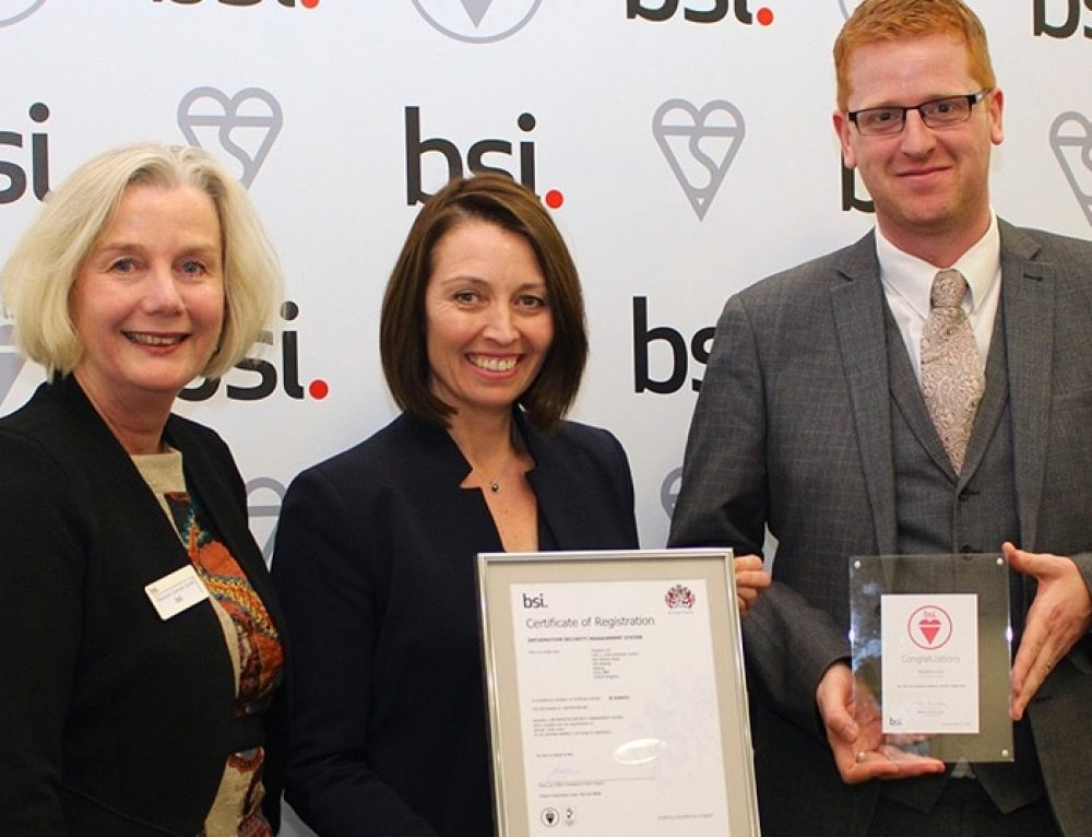 Esoteric Ltd Awarded ISO 27001