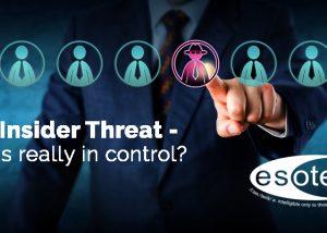 Esoteric to speak at CSARN's Insider Threat event