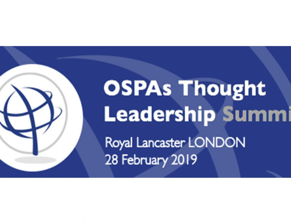 Esoteric to Exhibit at OSPAs Thought Leadership Summit